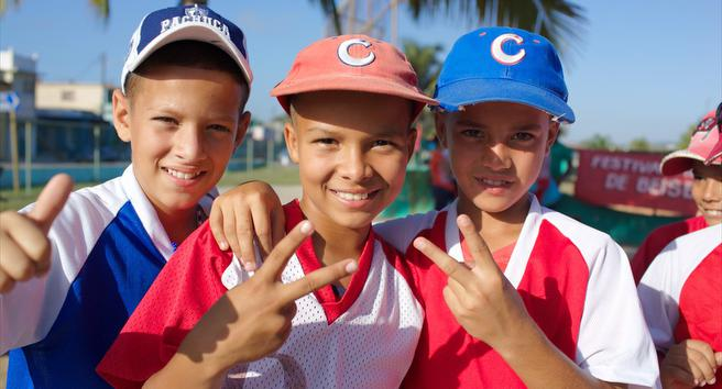 South Shore Ball Players Part Of The Cuba Goodwill Tour