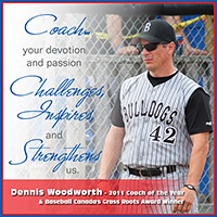 Dennis Woodworth 2011 Coach Of The Year