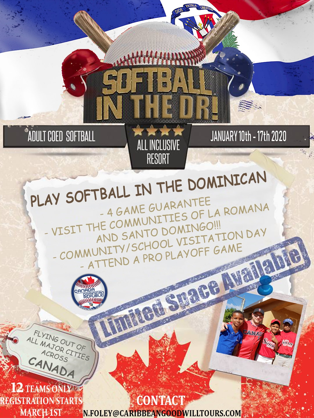 Softball In DR